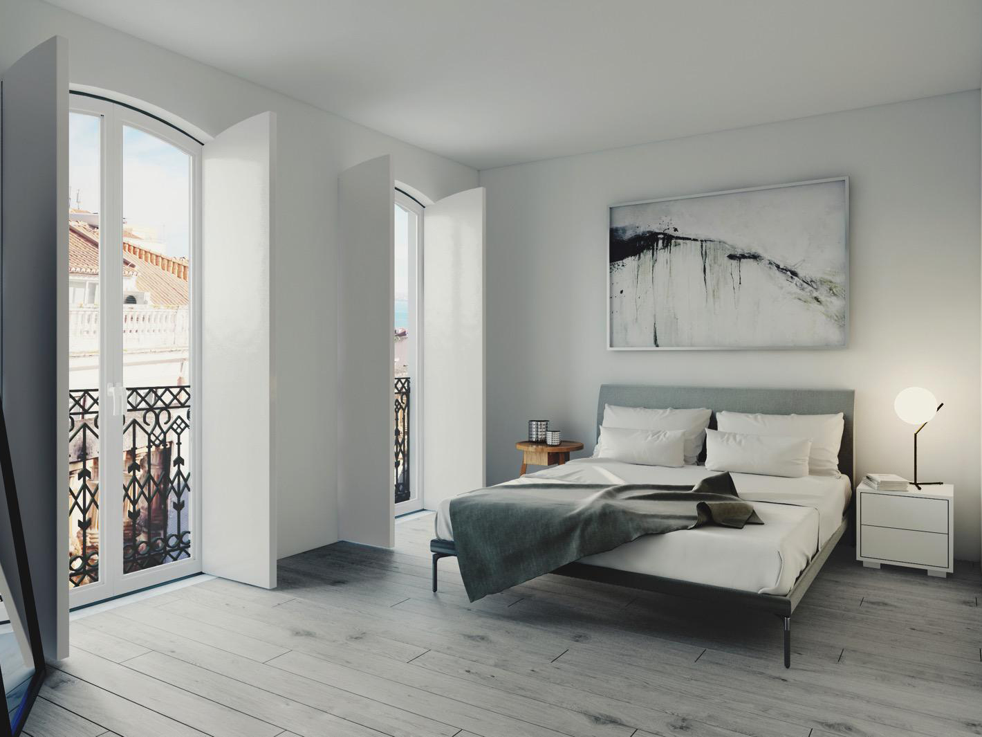 3 BEDROOM APARTMENT WITH GARAGE, IN LAPA, LISBON